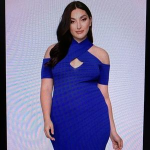 Fashion Nova In Too Deep Bandage Mini Dress